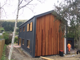Passive house complete